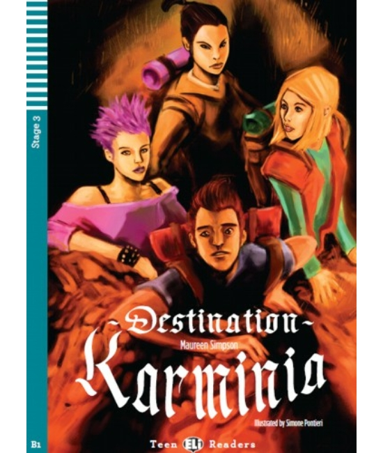 DESTINATION KARMINIA + Audio-CD