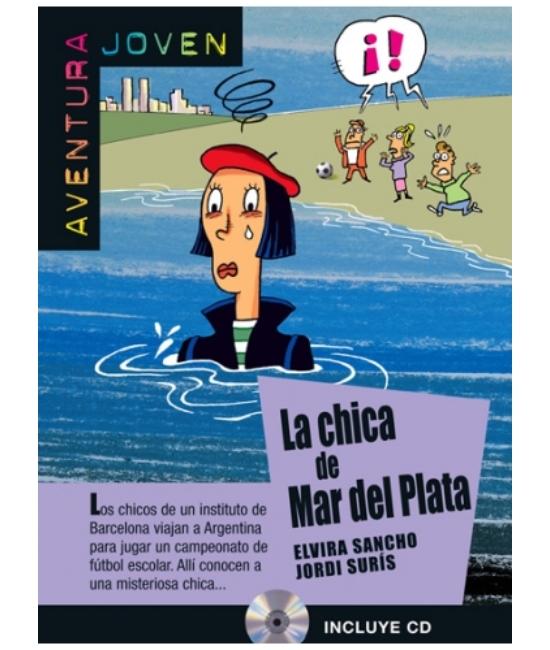 La chica de Mar del Plata + CD