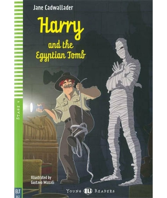 HARRY AND THE EGYPTIAN TOMB - New edition with Multi-ROM