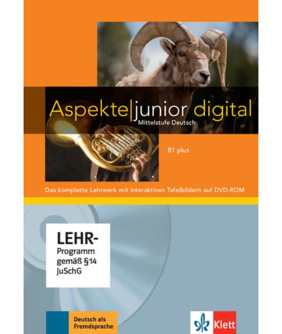 Aspekte junior B1 plus Lehrwerk digital
