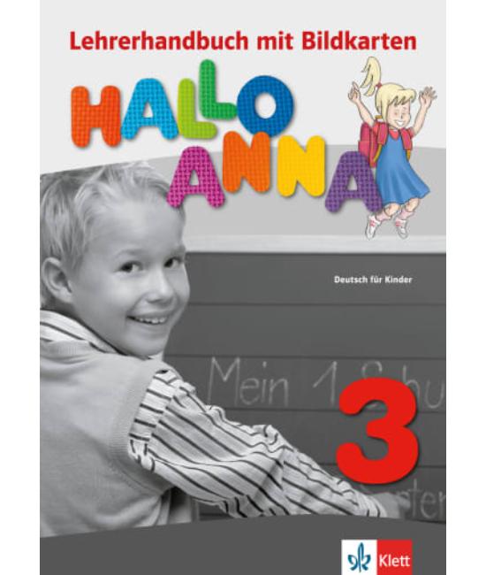 Hallo Anna 3 Lehrerhandbuch mit Bildkarten und Kopiervorlagen
