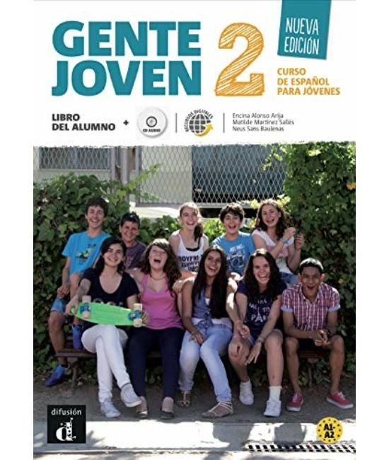 Gente Joven 2. Nueva Edición Libro del alumno + CD
