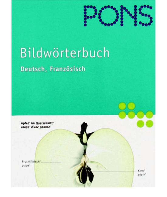 PONS Bildwörterbuch Deutsch Französich