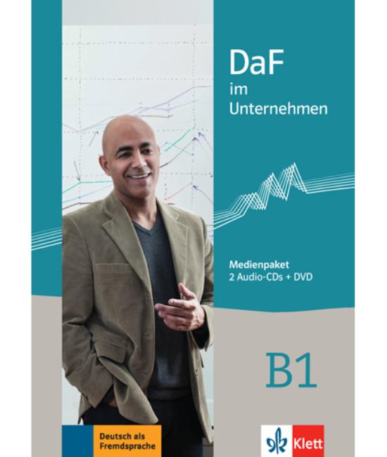 DaF im Unternehmen B1 Medienpaket 2 Audio CDs und DVD