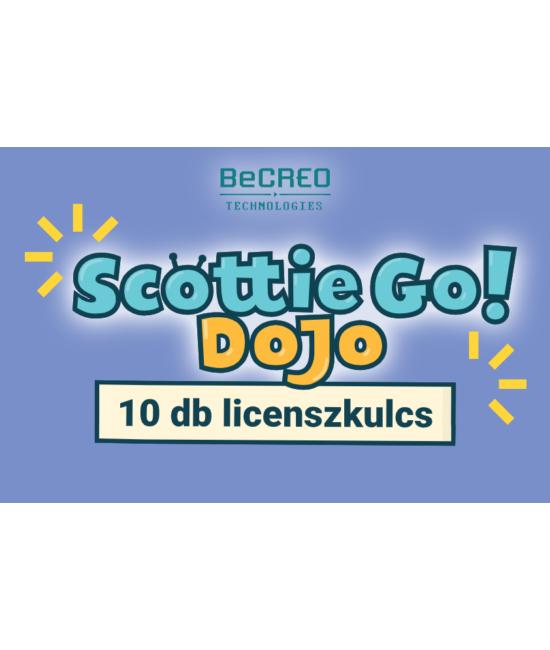 Scottie Go Dojo 10 db licenszkulcs egyéves hozzáféréssel