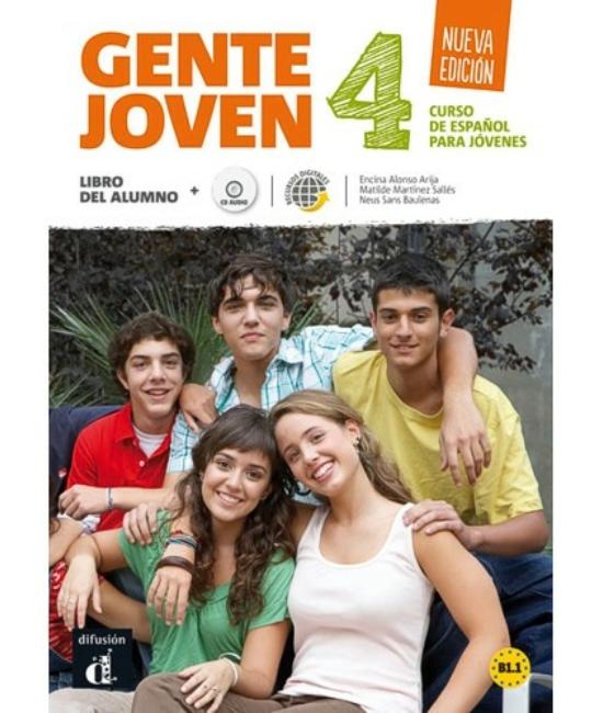 Gente joven 4 Nueva edición Libro del alumno