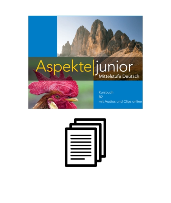 Aspekte junior B2 - Fénymásolható nyelvtani feladatok