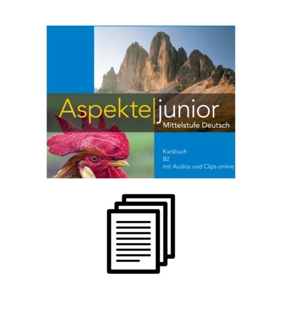 Aspekte junior B2 - Lösungen zum Kursbuch