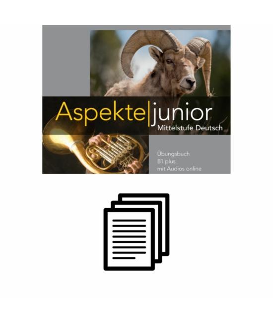 Aspekte junior B1 plus - Lösungen zum Übungsbuch