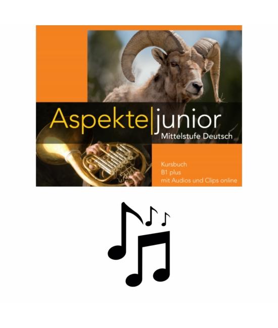 Aspekte junior B1 plus - Tankönyv hanganyaga