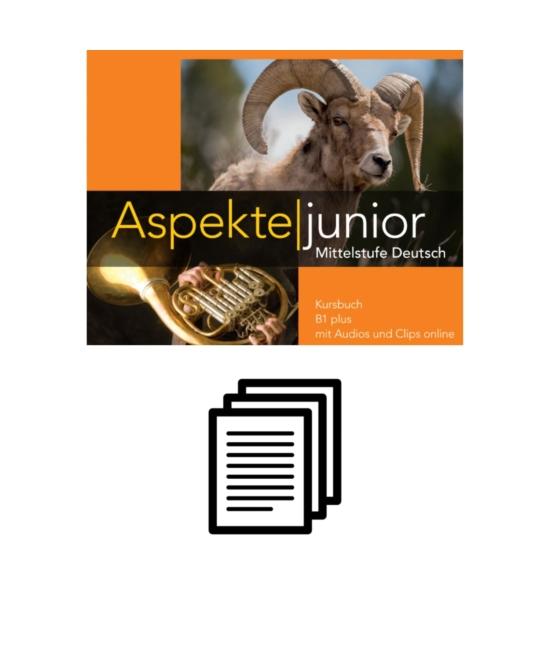 Aspekte junior B1 plus - Einstufungstest online