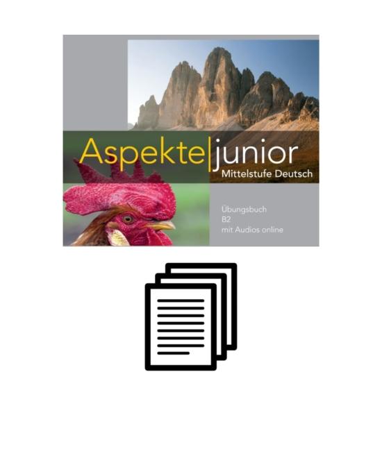 Aspekte junior B2 - Lösungen zum Übungsbuch