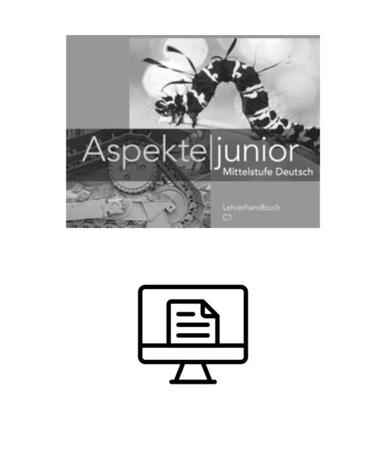 Aspekte junior C1 Lehrerhandbuch - digital