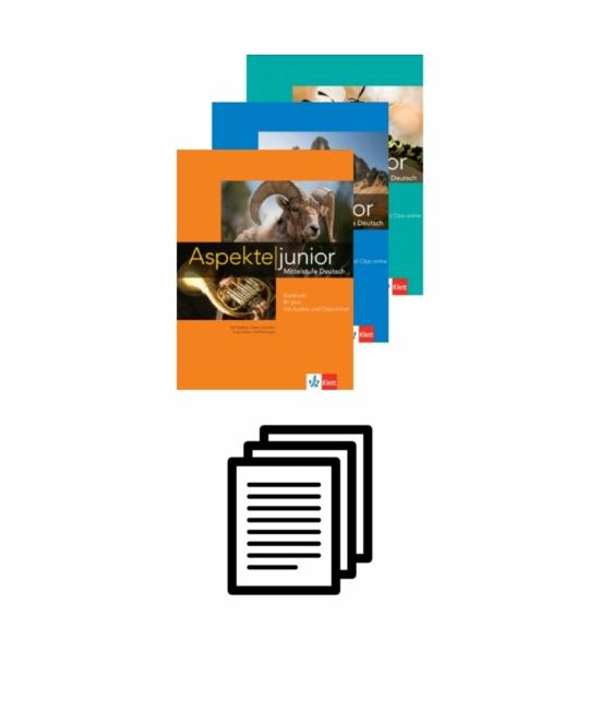 Aspekte junior - Nyelvi portfólió saját tanulási folyamat dokumentálásához