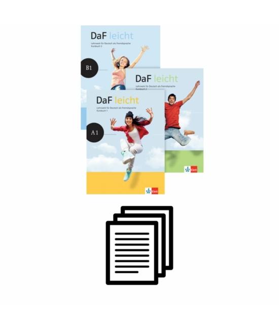 DaF leicht - Helyi tantervjavaslat