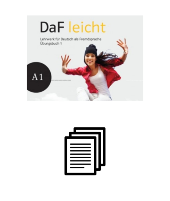 DaF leicht Übungsbuch 1 - Lösungen