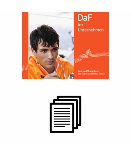 Kompetenztraining in DaF im Unternehmen A1