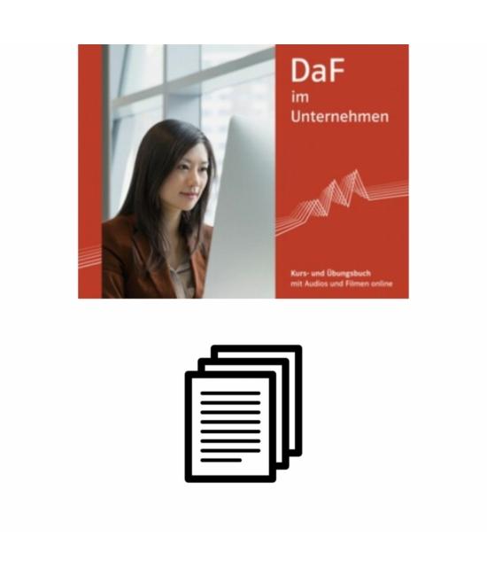 DaF im Unternehmen A2 Német magyar szójegyzék