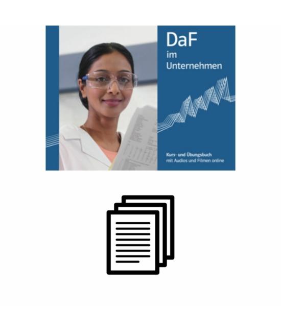 DaF im Unternehmen B2 Német magyar szójegyzék