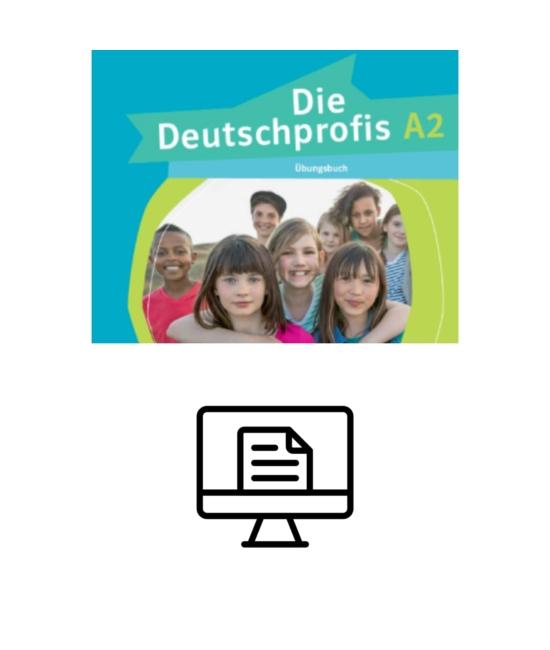 Die Deutschprofis A2 Übungsbuch - digital