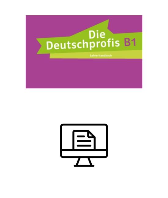 Die Deutschprofis B1 Lehrerhandbuch - digital