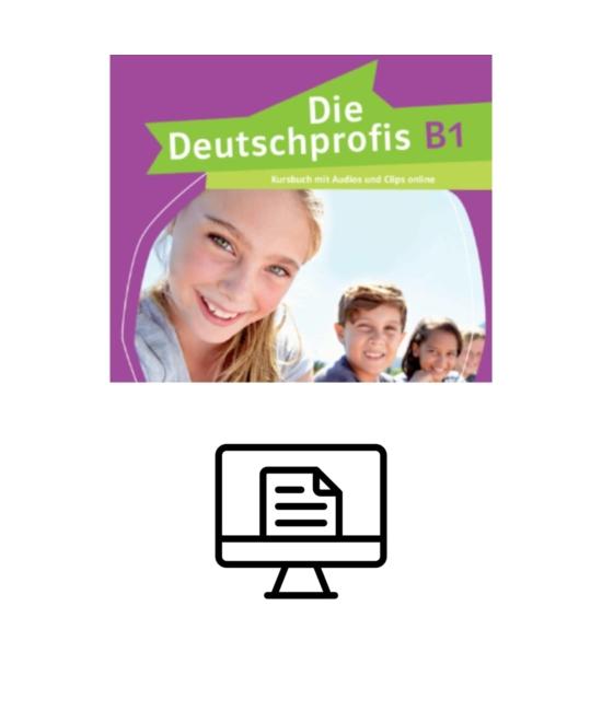 Die Deutschprofis B1 Kursbuch - digital