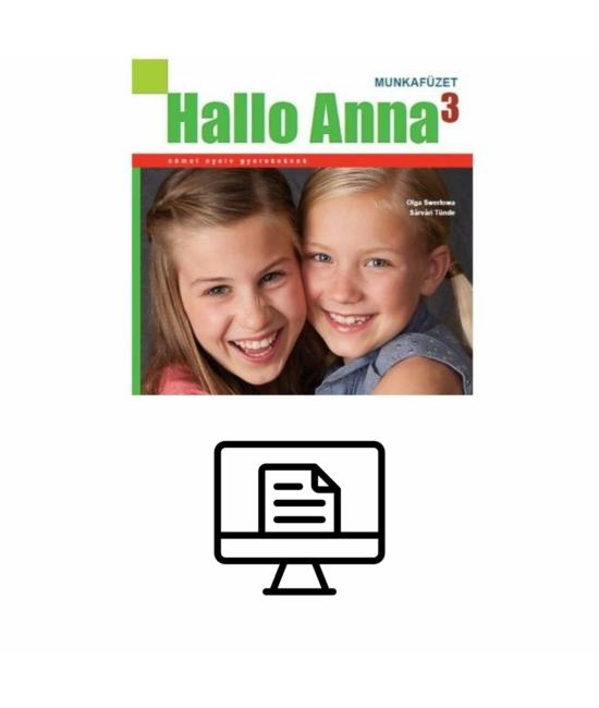 Hallo Anna 3 Munkafüzet - online lapozható verzió