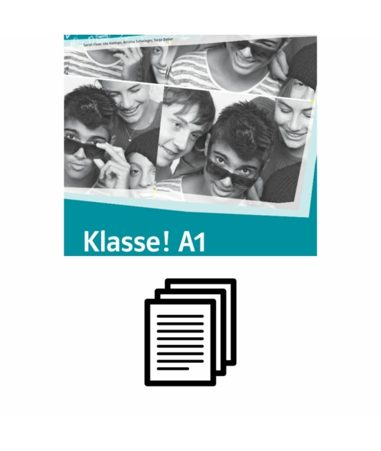 Klasse! A1 Übungsbuch - Hanganyag transzkripciója
