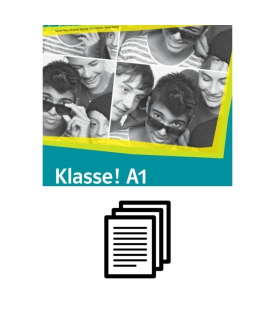Klasse! A1 Kursbuch - Fénymásolható nyelvtani feladatok