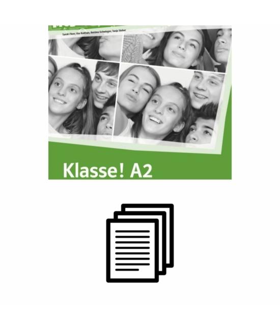 Klasse! A2 - Lösungen zum Übungsbuch