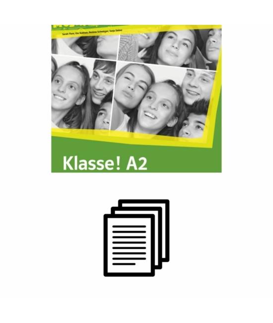 Klasse! A2 - Kétnyelvű szójegyzék