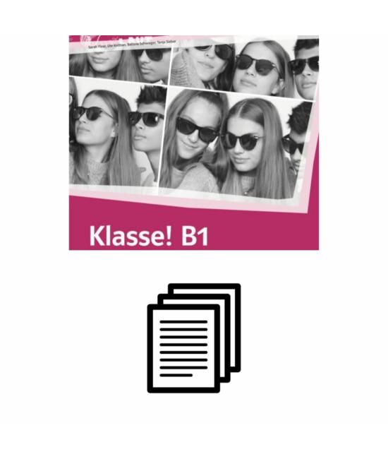 Klasse! B1 Übungsbuch - Hanganyag transzkripciója
