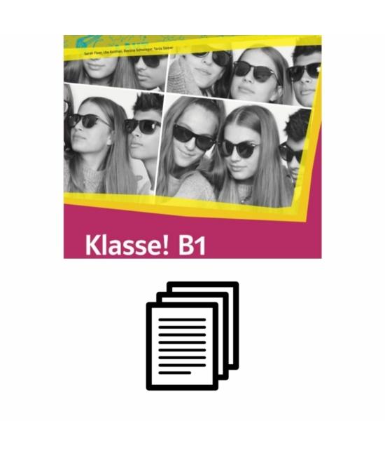 Klasse! B1 Kursbuch - Fénymásolható nyelvtani feladatok