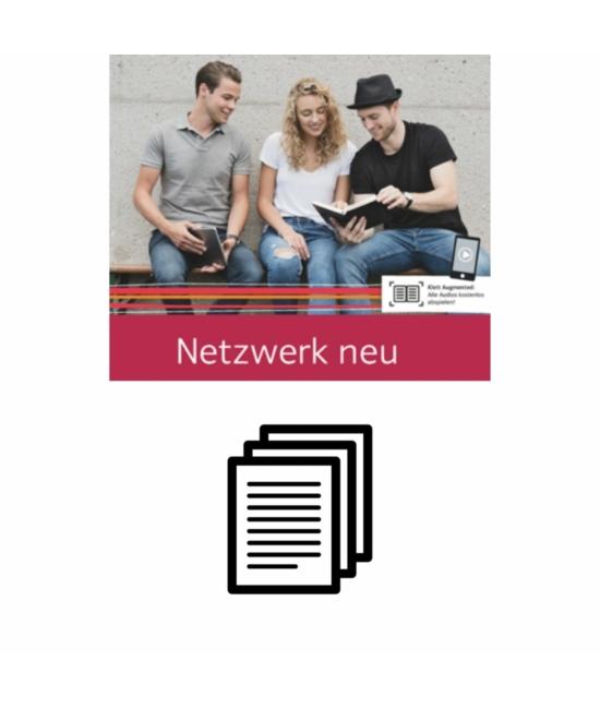 Netzwerk neu Übungsbuch A1 1 6 transkript audio
