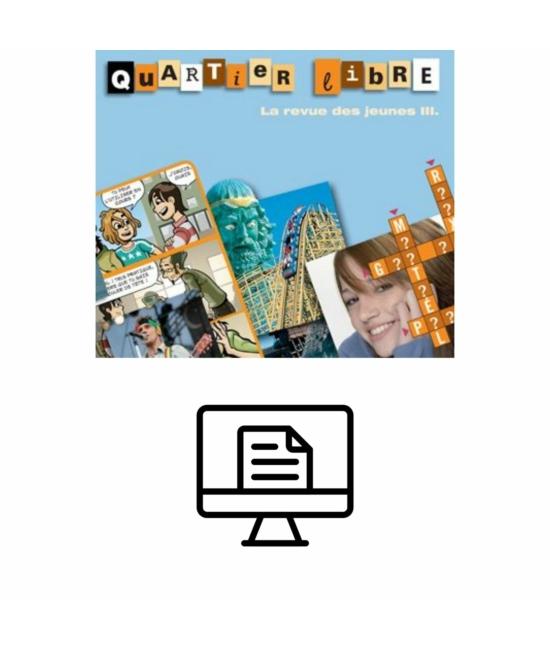 Quartier Libre La revue des jeunes 3  Online lapozható  verzió