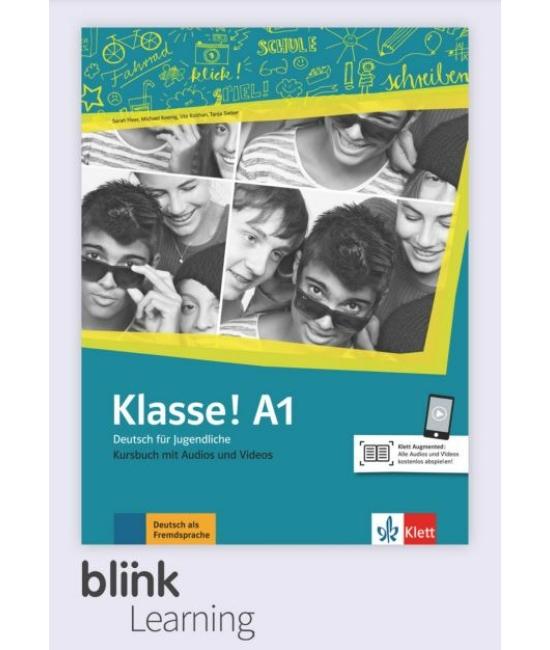 Klasse! A1 Kursbuch - Digitale Ausgabe mit LMS - Tanári verzió