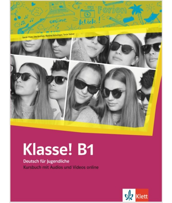Klasse! B1 Kursbuch mit Audios und Videos online