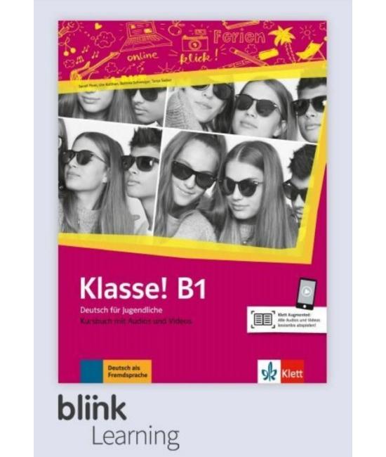 Klasse! B1 Kursbuch - Digitale Ausgabe mit LMS - Tanulói verzió
