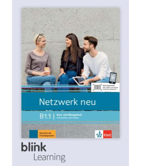 Netzwerk neu B1.1 Übungsbuch Digitale Ausgabe mit LMS Tanulói verzió
