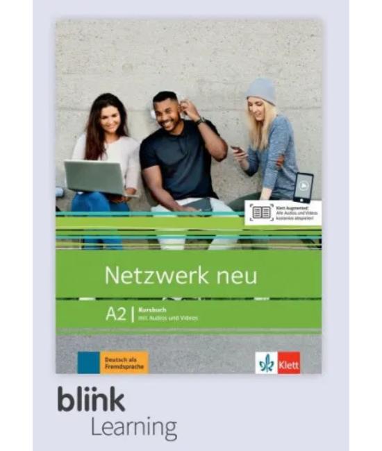 Netzwerk neu A2 Kursbuch Digitale Ausgabe mit LMS Tanári verzió