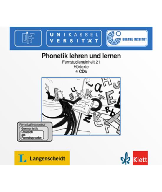Phonetik lehren und lernen  Fernstudienangebot DaF  4 Audio CDs