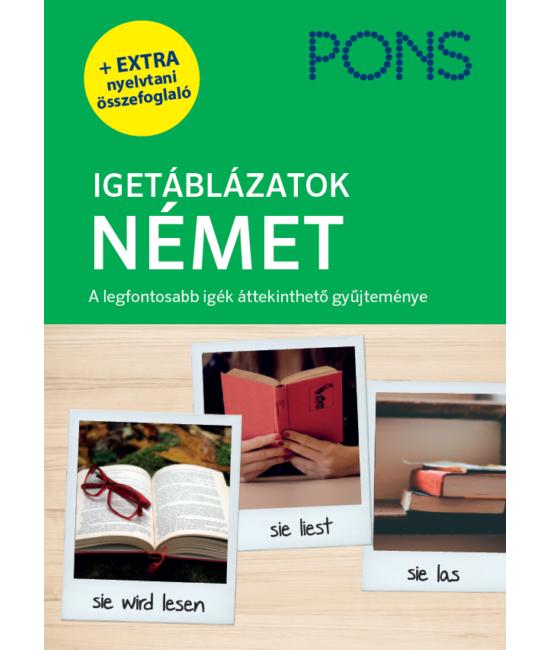 PONS Igetáblázatok NÉMET