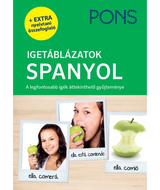 PONS Igetáblázatok SPANYOL