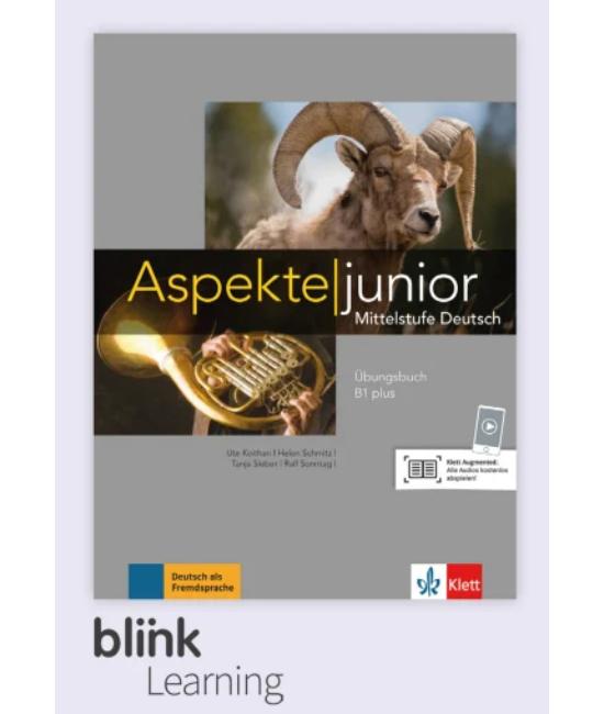 Aspekte junior B1 Plus Übungsbuch - Digitale Ausgabe mit LMS - Tanulói verzió