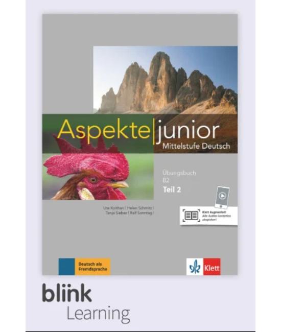 Aspekte junior B2 Übungsbuch -  Digitale Ausgabe mit LMS - Tanulói verzió