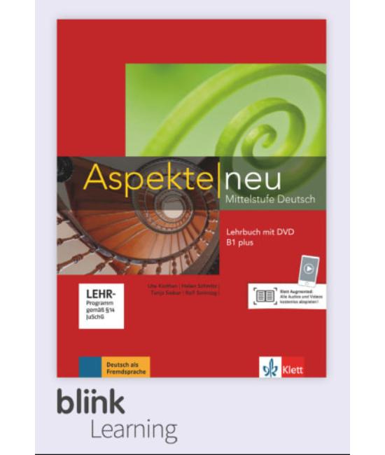 Aspekte neu B1 Plus Kursbuch Digitale Ausgabe mit LMS Tanulói verzió