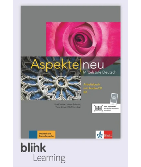 Aspekte neu B2 Arbeitsbuch Digitale Ausgabe mit LMS Tanári verzió