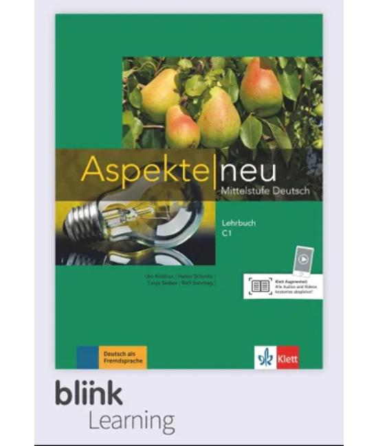Aspekte neu C1 Kursbuch Digitale Ausgabe mit LMS Tanári verzió
