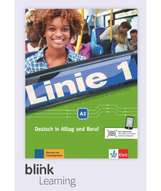 Linie 1 A2 Kurs Übungsbuch Blink Tanári verzió