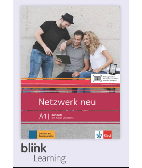 Netzwerk neu A1 Kursbuch Digitale Ausgabe mit LMS Tanári verzió